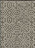 Sloane SketchTwenty3 Wallpaper Fabric Diamond Taupe/Brown SL00814 By Tim Wilman For Blendworth